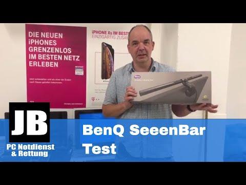 BenQ ScreenBar: Die Computer LED Lampe bei uns im Test.