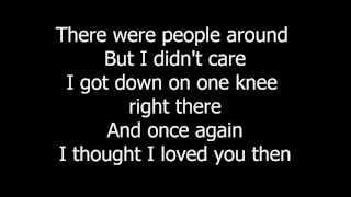 Brad Paisley - Then (Lyrics On Screen)