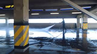 Top Gun cleaning Denver Parking Garages