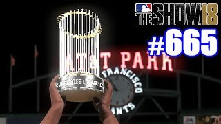502-FOOT HOME RUN CLINCHES WORLD SERIES!   MLB The Show 18   Road to the Show #665