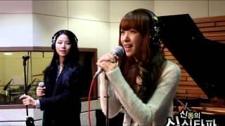 20121114 신동의 심심타파 / EXID - 매일밤 (Live)