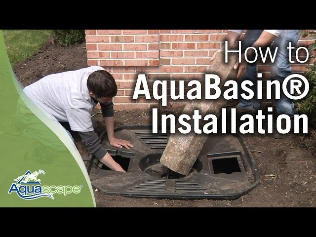 How to Build a Fountain with Aquascape's AquaBasin