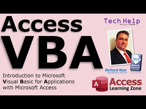 Microsoft Access Intro to VBA Programming - Visual Basic for Applications for Beginners - Access VBA