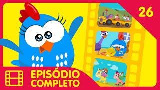 Galinha Pintadinha Mini - Episódio 26 Completo - 12 min