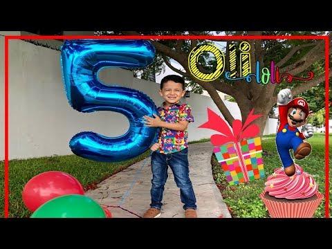 Especial cumpleaños 5 de Oli |Mario Bross
