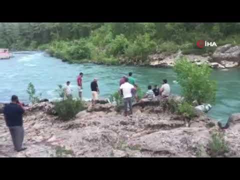 Irmağa giren genç boğularak hayatını kaybetti