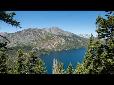 FALLEN LEAF LAKE TO ANGORA LAKE IN SOUTH LAKE TAHOE