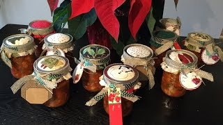 HOLIDAY FOOD GIFTS - BEST ANTIPASTO RECIPE