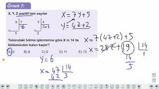 Eğitim Vadisi TYT Matematik 7.Föy Bölme (1) Konu Anlatım Videoları