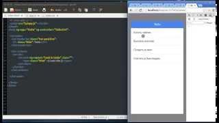 Разработка гибридных приложений под android с использованием HTML, CSS, AngularJS, Ionic ч.3