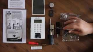 TSE 5012 das elektronische Türschloss von Burgwächter mit Fingerscan / PIN