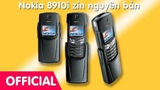 Điện thoại cổ Nokia 8910i chính hãng nguyên bản xách tay, tồn kho chưa qua sử dụng.