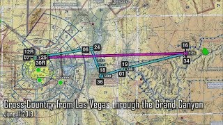 Landing a Cessna 172 in the Grand Canyon from Las Vegas NV
