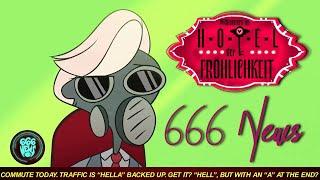 666 News - Willkommen im Hotel der Fröhlichkeit (HAZBIN HOTEL - Morning Report - German Fandub)