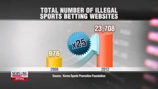 Smartphones, Medium For Illegal Sports Betting 불법 도박 스마트폰으로 급속히 번져