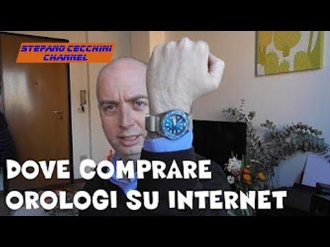 VLOG N 88 Dove Comprare Orologi su Internet