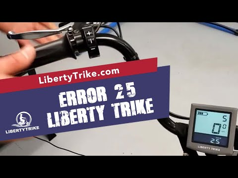 Liberty Trike | Solving an Error 25