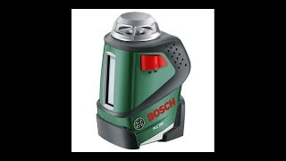 Laser Bosch PLL 360 - unboxing and testing