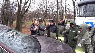 Кунцево: полиция и ЧОП против жителей на Франко 20