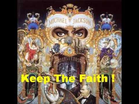 Keep The Faith - Michael Jackson (Lyrics)