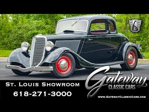 Video of '34 5-Window Coupe - QB9C