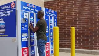 24 Hour AmeriGas Vending Machines