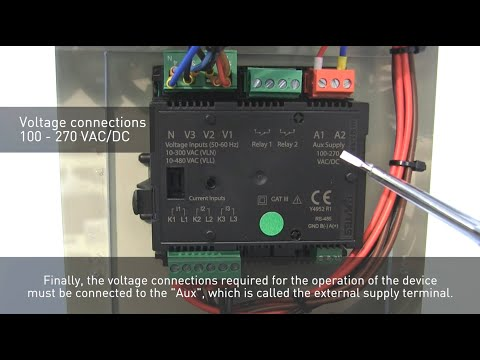 ENTES EMM Series Multimeters - Connection Settings and Initial Setup