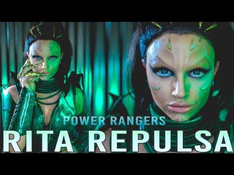 RITA REPULSA Power Rangers Movie Makeup Tutorial (No Prosthetics)