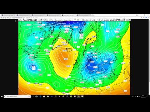 Thursday Night Update - Cold And Snow Latest (22/02/18)