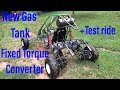 building the long travel full independent suspension dual engine go kart part 5