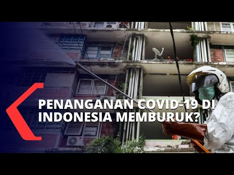 jokowi kecewa penanganan covid- di indonesia memburuk