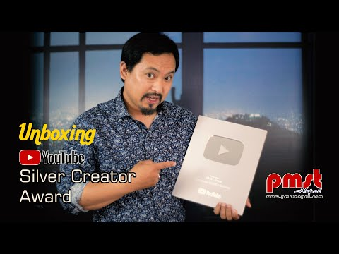 """Unboxing Video """"Silver Creator Award"""""""