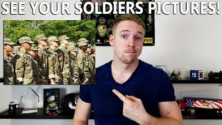 How To View Soldiers Pictures DURING Army Basic Training