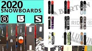 2020 Snowboards: 3 Best Boards From Ride/ Burton/ Salomon (+Superpig)