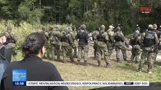 sytuacja na granicy polsko białoruskiej