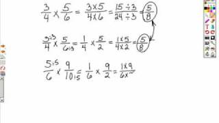 Intro to Multiplying and Dividing Fractions