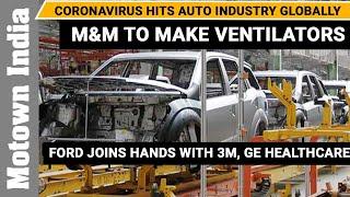Mahindras move from SUVs to ventilators as Indian auto industry slumps | covid-19 | Motown India