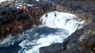 Pool Of Death - Queens Bath Kauai, Hawaii
