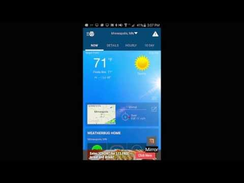Video of WeatherBug