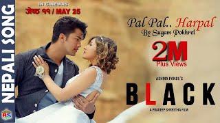 PAL PAL HARPAL | BLACK | Nepali Movie Song-2018 by Sugam Pokharel ft. Aakash Shrestha Aanchal Sharma