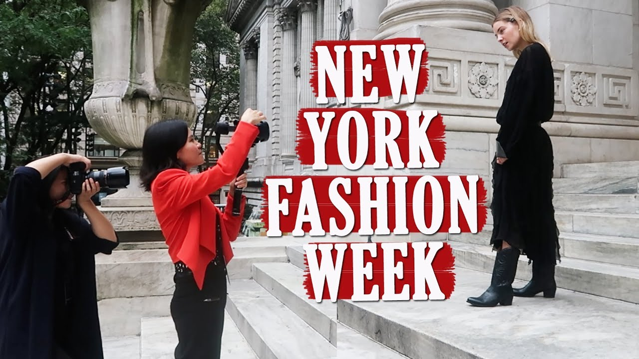This happens at the Fashion Week