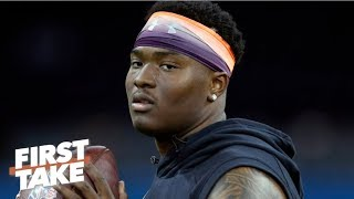 Giants have no reason not to draft Dwayne Haskins if he's available - Louis Riddick | First Take