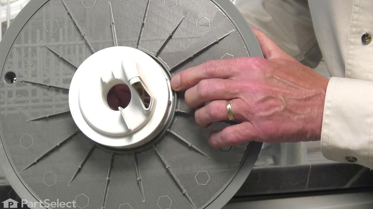 Replacing your Frigidaire Dishwasher Dishwasher Filter