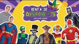 RENTA DE DISFRACES PARA HOMBRES