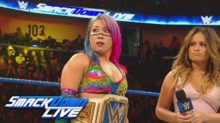 Mandy Rose interrupts Asuka: SmackDown LIVE, Feb. 19, 2019