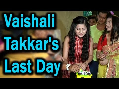Sasural Simar Ka's Anjali AKA Vaishali Takkar's Last Day Shoot | Cake Cutting Celebration