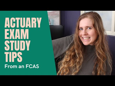 How I passed all my Actuarial Exams on the first try | Actuary exam ...