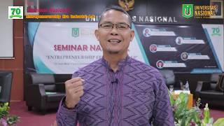 Seminar Nasional 70thn, Entrepeneurship Era 4 0