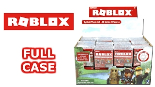 Roblox Series 1 Blind Box Full Case Unboxing Blind Lettered Boxes Opening Entire Case