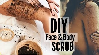 DIY: Coffee Scrub to Get Rid of Body Acne & Cellulite!